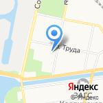 Везунчик на карте Санкт-Петербурга