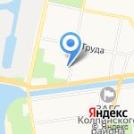 Рыбка на карте Санкт-Петербурга