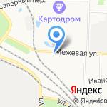 ВЕЛЕС на карте Санкт-Петербурга