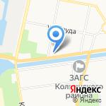 Детская школа искусств им. П.И. Чайковского на карте Санкт-Петербурга