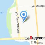 Комплексный центр социального обслуживания населения Колпинского района на карте Санкт-Петербурга