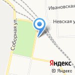Автокомплекс на карте Санкт-Петербурга