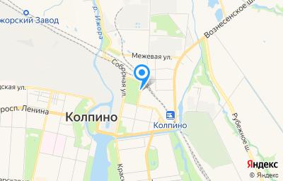 Местоположение на карте пункта техосмотра по адресу г Санкт-Петербург, г Колпино, ул Культуры, д 21 литер а