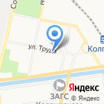 Почтовое отделение №654 на карте Санкт-Петербурга