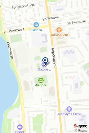 КАТОК ИЖОРЕЦ на карте Колпино