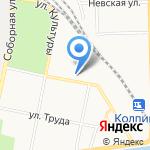 Пункт приема цветного и черного металла на карте Санкт-Петербурга