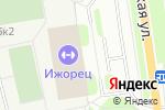 Схема проезда до компании Ижорец в Санкт-Петербурге
