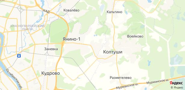 Суоранда на карте