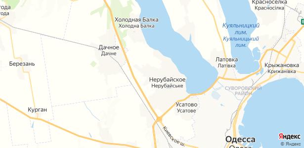 Великая Балка на карте