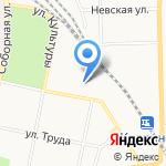 Автоприблуды на карте Санкт-Петербурга