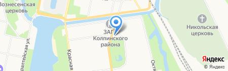 Шиномонтажная мастерская на Тверской на карте Санкт-Петербурга