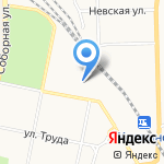 Comfort на карте Санкт-Петербурга