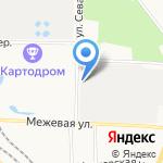 Сова на карте Санкт-Петербурга