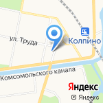 Радуга на карте Санкт-Петербурга