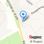 Магазин автозапчастей на карте Санкт-Петербурга