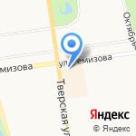 Ока на карте Санкт-Петербурга