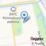 Стимул на карте Санкт-Петербурга