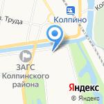 Салон оптики на карте Санкт-Петербурга