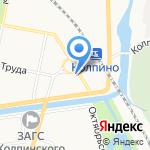Асканиа на карте Санкт-Петербурга