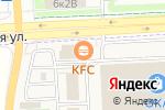 Схема проезда до компании KFC в Тельмане