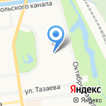 Гимназия №402 на карте Санкт-Петербурга