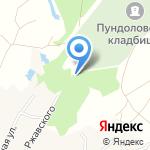 Магазин венков на карте Санкт-Петербурга