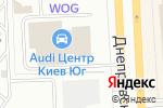Схема проезда до компании Український капітал, ПАТ в
