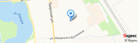 Средняя общеобразовательная школа №588 на карте Санкт-Петербурга
