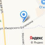 Laguna на карте Санкт-Петербурга