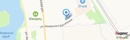 ОКНА ГОДА на карте Санкт-Петербурга