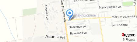 59-й квартал на карте Одессы