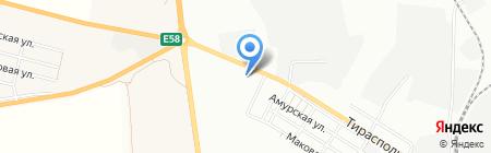 АГНКС на карте Одессы