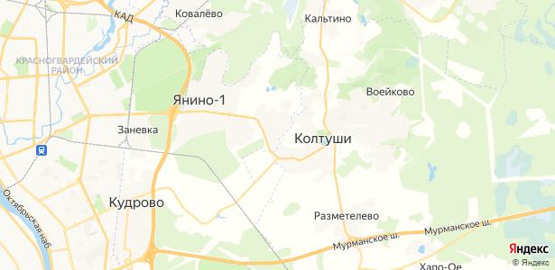 Янино 2 на карте