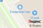 Схема проезда до компании Glamur в Санкт-Петербурге