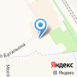 Простоквашино на карте Санкт-Петербурга