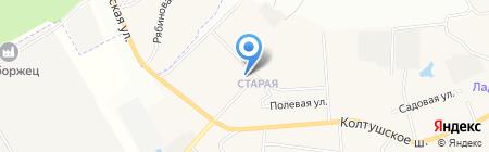 K-Internet на карте Старой