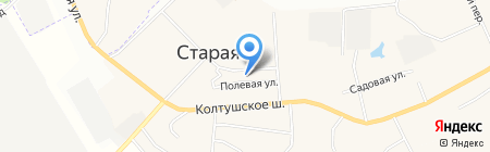 Дуэт на карте Старой