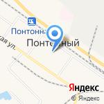 Муниципальное образование пос. Понтонный на карте Санкт-Петербурга