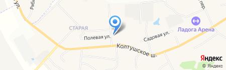 Магазин автозапчастей на карте Старой