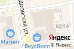 Схема проезда до компании Техносила во Всеволожске