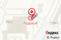 Схема проезда до компании Единый центр новостроек Тренд в Имени Свердловой