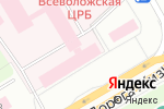 Схема проезда до компании Банкомат, Сбербанк во Всеволожске