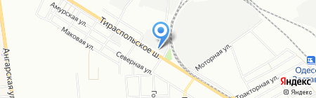 Рыбалка 24 на карте Одессы