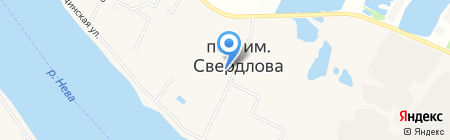 Автостоянка на Западном проезде на карте Имени Свердловой