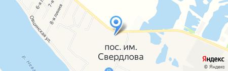 Новостройки на карте Имени Свердловой