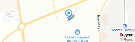 Сумма Технологий на карте Одессы
