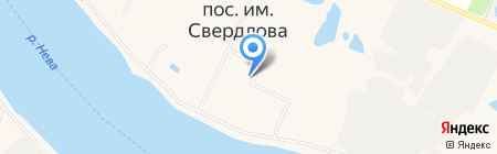 Мастерская по ремонту обуви на ул. 1-й микрорайон на карте Имени Свердловой
