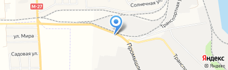 АЗС БРСМ-Нафта на карте Ильичёвска