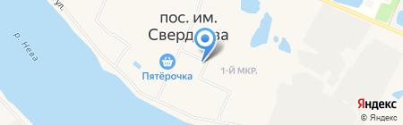 Почтовое отделение №682 на карте Имени Свердловой