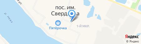 Булочная на карте Имени Свердловой